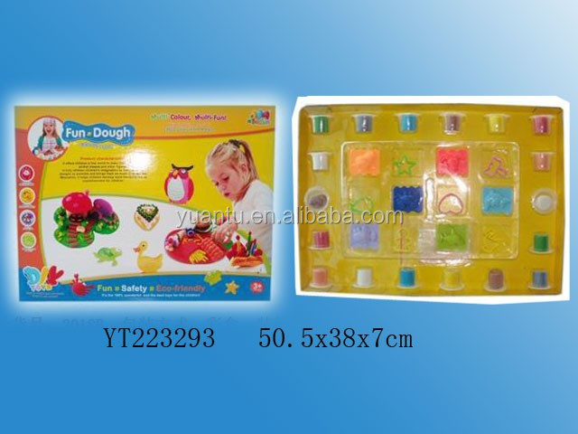 Happy farm style environmental choi mud toys