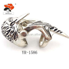 cool fashion personality alloy eagle ring for men