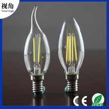 Highest efficiency dimmable C35T led filament candle lamp