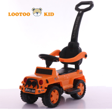 Playing toy kid car license / 2018 new push car baby ride / outdoor baby swing car with music sound
