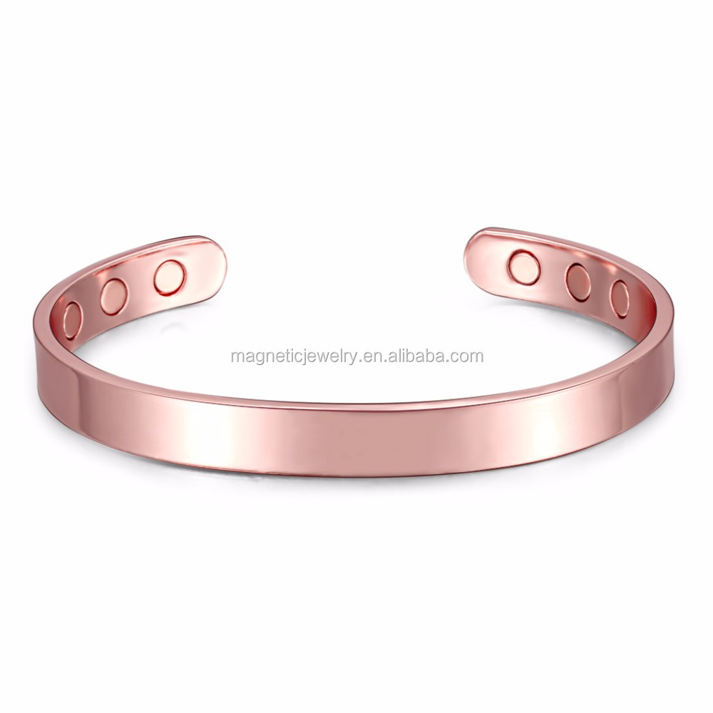 Arthritis Pure Magnetic Copper Bangle for Men 2017