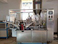 toothpaste fill seal machine for cosmetic toothpaste lotion