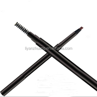 Guangzhou custom brow pencil private label makeup eye brow pencil wholesale