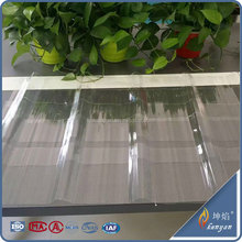 polycarbonate sheet for corrugated roofing panels