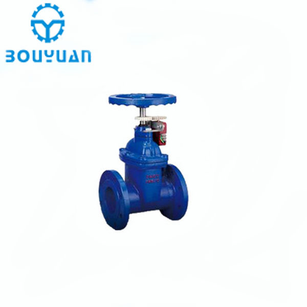 Wenzhou non rising stem ductile iron cast iron soft seal gate valves