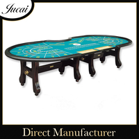 Wholesale high quality large folding poker tables
