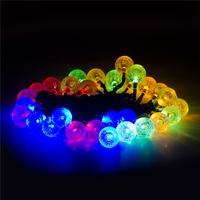 Hot Sale 30/50 LED Solar Valentine Garden Christmas Decoration Light For Outdoor