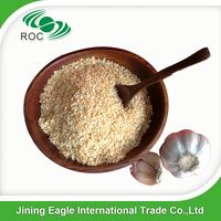 Dehydrated natural garlic granule supply wholesale
