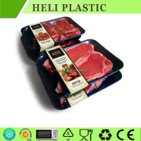 disposable black PP meat/beef tray
