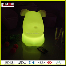 indoor puppy shape remote table lamp for children
