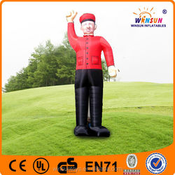 ali express commercial giant inflatable man for advertising