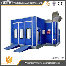 China supplier mini paint booth/used paint equipment/spray painting line