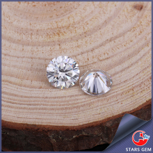 wholesale Clear White Moissanite Stone Lab Created Diamond Round 7.5mm For Jewelry Rings