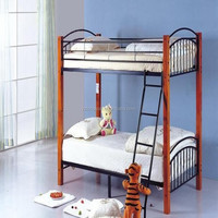 Kids and adult metal Bunk bed with Vertical Ladder wholesale