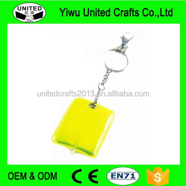 LED Light Fashionable Colorful Crystal Keychain