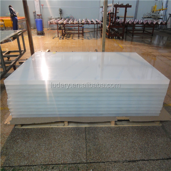 Advertising decorative thin rigid plastic 2mm acrylic 4x8 sheet