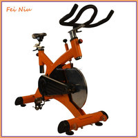 Deluxe Cycling Upright Indoor Exercise commercial spinning Bike Stationary Cycling Cardio Workout LCD Monitor Spin Bike