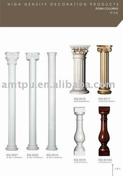 Roman column polyurethane columns light weight columns for Polyurethane columns