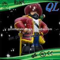 2012(QiLing) amusing inflatable pirate decoration
