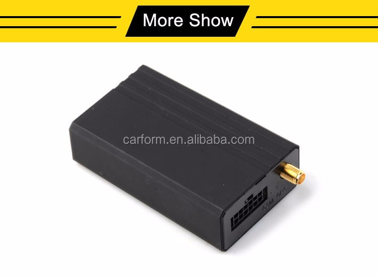 GPS/GSM/GPRS vehicle tracker CF105AP with flash memory,temperature detection, engine on/off control for fleet management