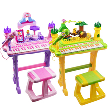 musical instrument electric keyboard piano toy with block for kids