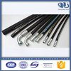 Top quality Marine oil / fuel delivery composite flexible fuel oil resistant nitrile rubber hose, composite hydraulic - fitting