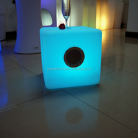 OutdoorMini Wireless handfree subwoofer cube Bluetooth led Speaker