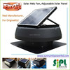 2015 new type active auto ventilation solar powered roof fan for poultry