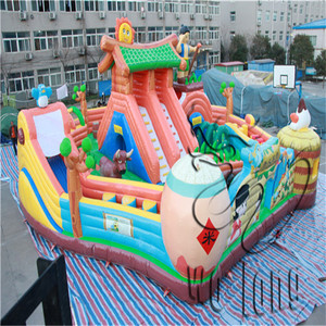 Hot Inflatable Jumping Castle, Playing Castle Inflatable Bouncer,Inflatable Combo
