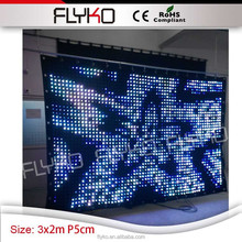 buy cheap led video curtain play sexy movice