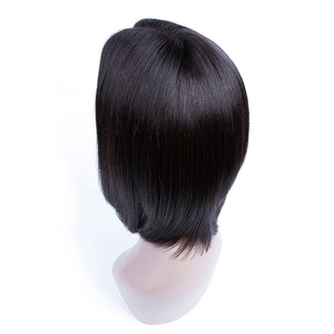 Wholesale Brazilian Remy Hair 150% Density Full Lace Wig Pre Cut Bob Style Brazilian Women Hair Wig