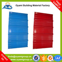 Soundproof multi color durability anti-corrosion apvc roof tile for industrial warehosue