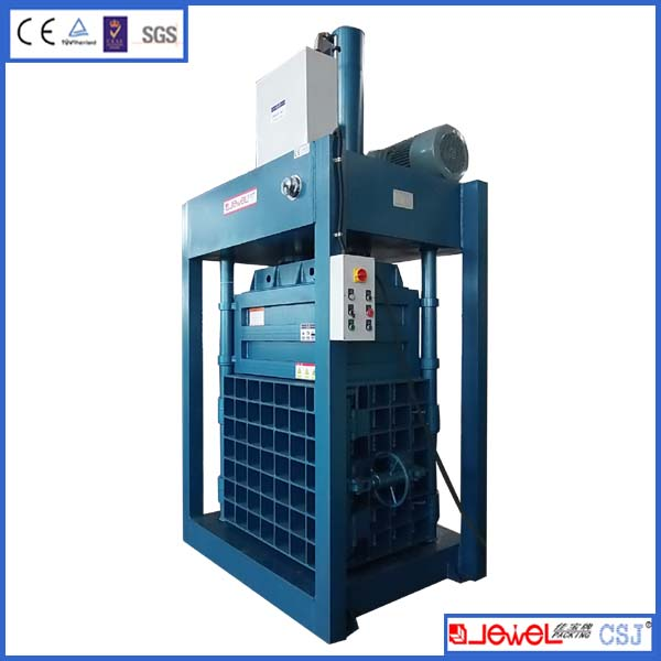 18 years factory Large capability cross tying PET bottle vertical baler