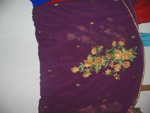 painting on Sarees
