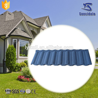 chinese roof tiles 0.42mm thick steel sheet price list building material color steel roofing Roman type
