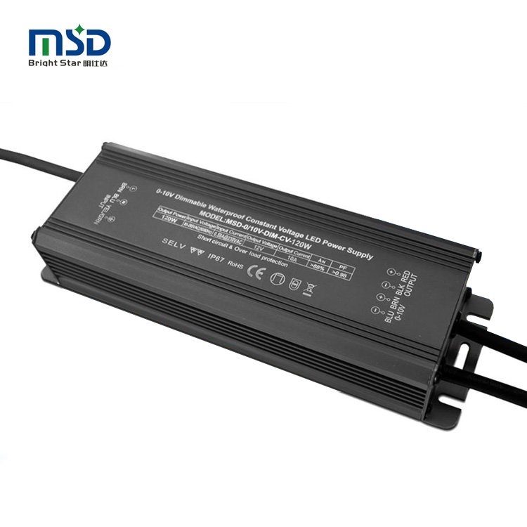 45W 50W 60W 80W 100W 120W 150w waterproof ip67 constant voltage power supply 0-10v dimmable led <strong>driver</strong> dc 12v 24v