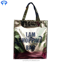 china online shopping buyer request laminated non woven tote bag