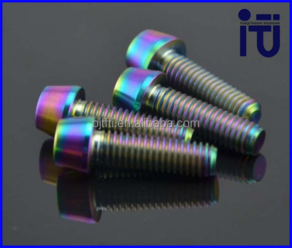 high density link titanium bolt With Long-term Technical Support