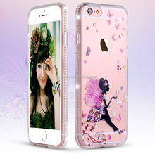 Ultra-thin for iphone 6 phone case soft / custom soft shell tpu shockproof gel phone case