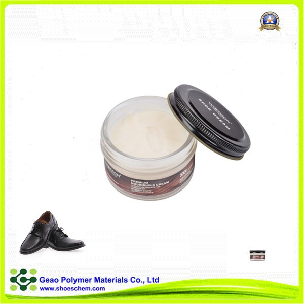 OEM package glass can pack leather cream nourishing ,leather care cream