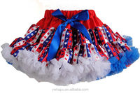 2015wholesale cheap pettiskirts factory ,kids dress ,baby skirt made in china