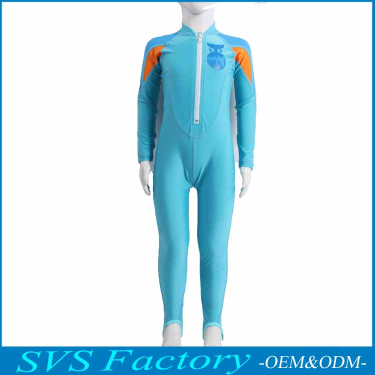 SVS UV Protection Sun Protection UPF 50+ Kids Custom Printed Rash Guard