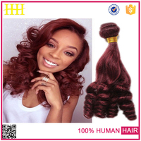 wholesale unprocessed virgin brazilian hair best price 3 bundles red brazilian hair weave