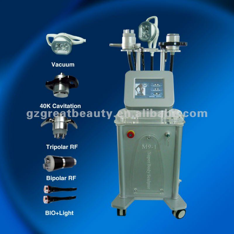 Newest Vacuum Cavitation Slimming Machine For Body Figure Reshape