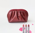 High Quanlity Beautiful Luxury Cosmetic Bag Women Leather Makeup Bag For Party