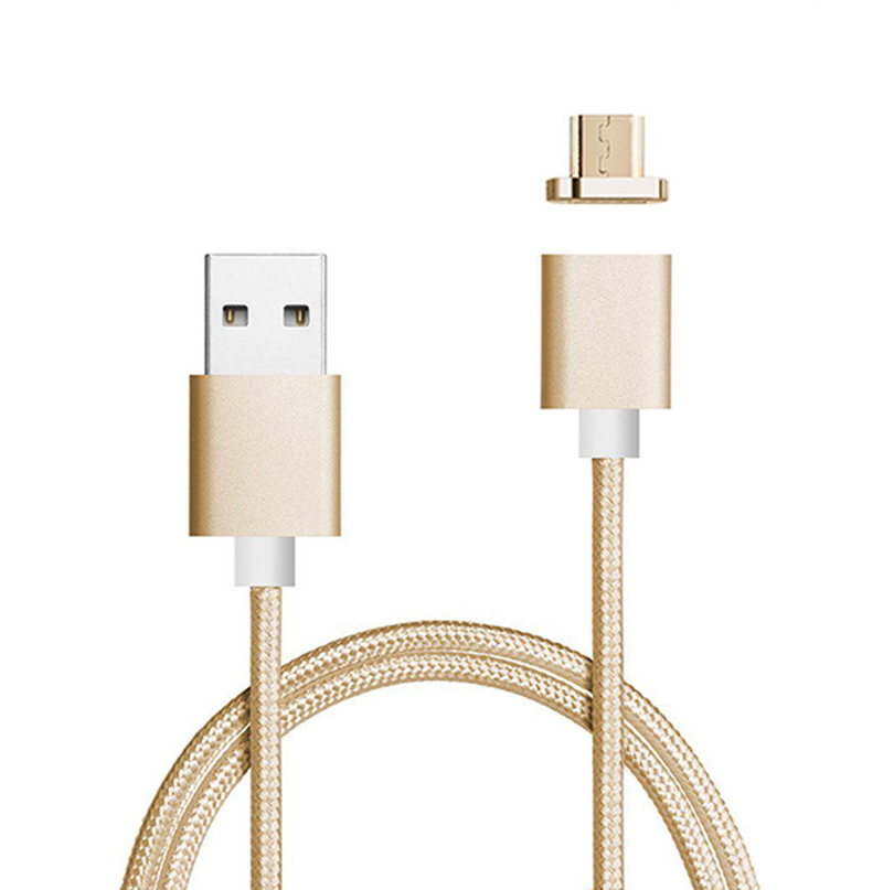 mobile phone accessories,3 in 1 Metal Head Usb Cable Magnetic Charging cable