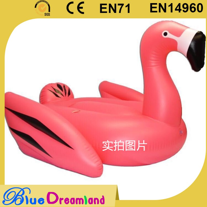 Hot new products inflatable flamingo/swan pool floats in long life