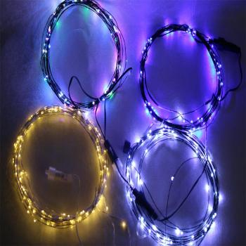 High Quality Home Decoration Multicolor Led 25ft Copper Wire Led Lights