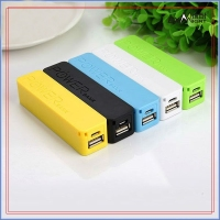 Best power bank 2600mah rechargeable with stainless steel design tube style