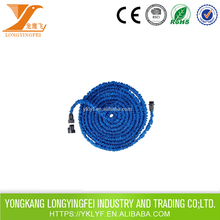 3 inch flexible water hose for washbasin with plastic quick connector fittings